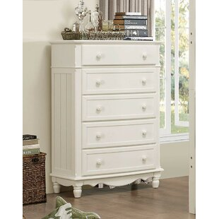 Pagoda 5 Drawer Chest by Darby Home Co