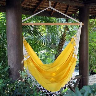 Novica Cotton Chair Hammock