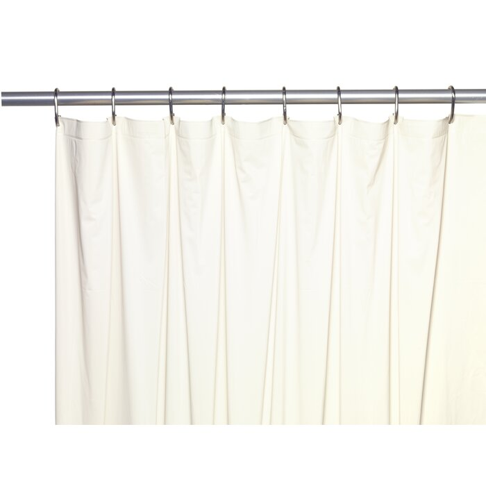 5 Gauge Vinyl Shower Curtain Liner