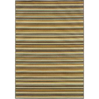 Bay Isle Home Bianca Power Loom Yellow Rug Wayfair