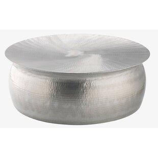 Ranjeeta Drum Coffee Table By World Menagerie