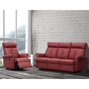 Check Prices Lynn Reclining Configurable Living Room Set by Relaxon Reviews (2019) & Buyer's Guide