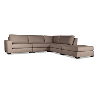 Brose Modular Sectional With Ottoman by Brayden Studio New Design