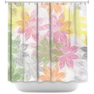 Lemon Scented Single Shower Curtain