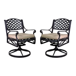 La Jolla Patio Chair with Cushion (Set of 2)