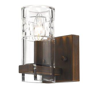 Khan 1-Light Armed Sconce by Union Rustic
