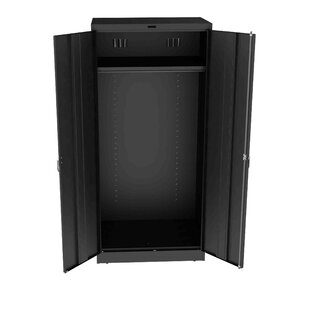Helena 78H x 36W x 24D 2 Door Storage Cabinet by Rebrilliant