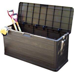280 Litre Resin Storage BoxGarden Storage Boxes   Wayfair co uk. Outside Storage Bins Uk. Home Design Ideas