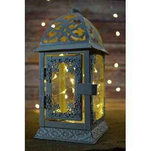 Modern Metal Lantern by Bloomsbury Market