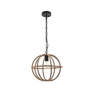 Hearne 1-Light Globe Pendant by Gracie Oaks