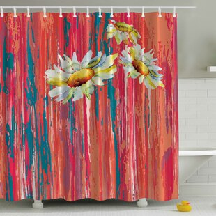 Daisies Print Single Shower Curtain