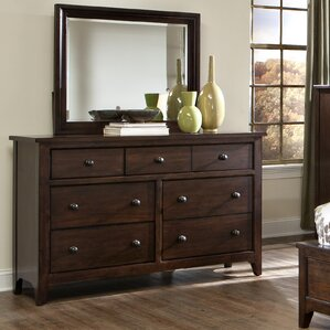 Justine 7 Drawer Dresser with Mirror by Imagio Home by Intercon