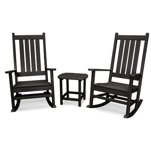 Vineyard 3 Piece Conversation Set by POLYWOOD?