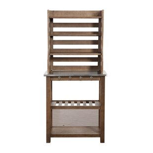 Wood Baker's Rack by Burnham Home De..