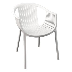 Pedrali Stacking Patio Dining Chair by Florida Seating