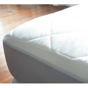 Alwyn Home Extra Long Twin Cotton Mattress Pad