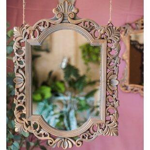Fleur De Lis Living Wynn Carving Frame Accent Mirror
