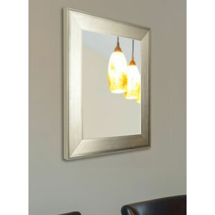 Online Reviews Brushed Wall Mirror By Latitude Run