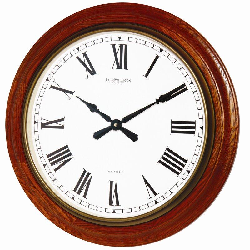 london clock company wanduhr traditional 54 cm bewertungen. Black Bedroom Furniture Sets. Home Design Ideas