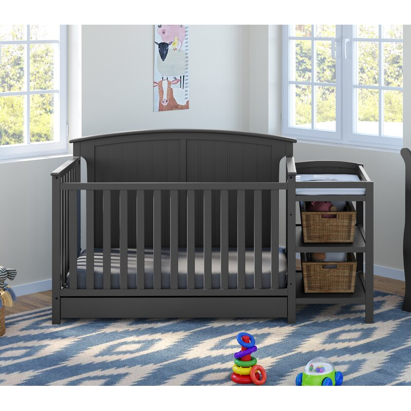 Storkcraft Steveston 4 In 1 Convertible Crib And Changer Reviews Wayfair
