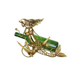 Golden Mermaid 1 Bottle Tabletop Wine Rac..