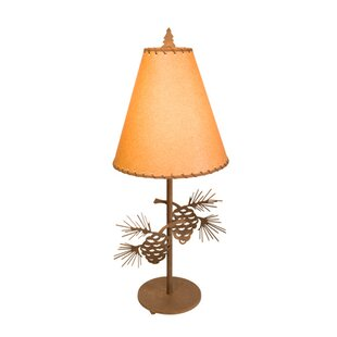 Pinecone Narrow 30 Table Lamp
