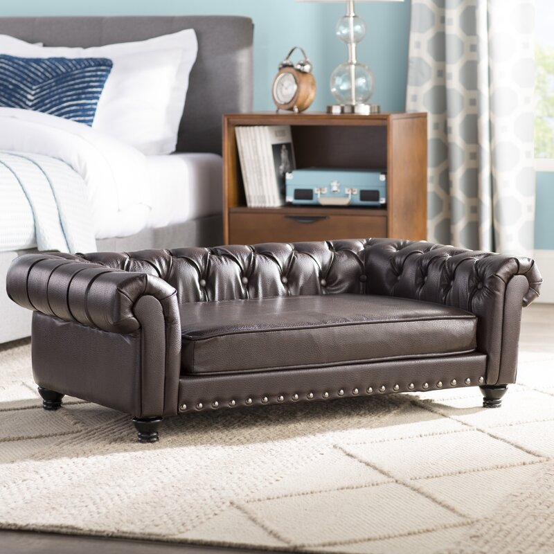 Cornelia Dog Sofa With Solid Foam Cushion