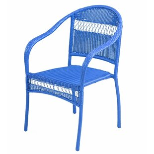 Tangier Wicker Stacking Patio Dining Chair