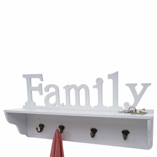 Kearns Wall Mounted Coat Rack By Brambly Cottage