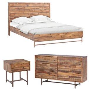 Clover King Platform Configurable Bedroom Set