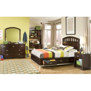 Jami Platform Wood Configurable Bedroom Set by Harriet Bee