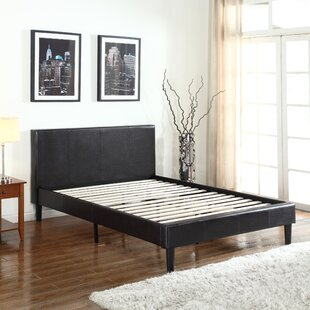 Twin Upholstered Platform Bed by Madison Home USA