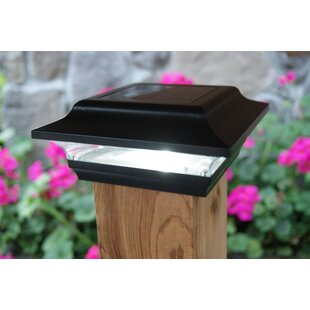 Imperial Integrated LED Fence Post Cap