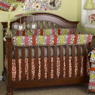 Compare prices Here Kitty Kitty 7 Piece Crib Bedding Set By Cotton Tale