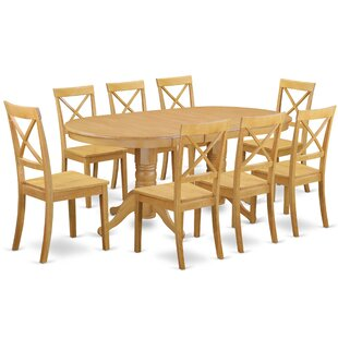 Rockdale 9 Piece Solid Wood Dining Set