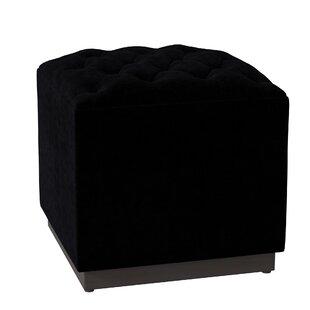 Tenorio Cube Ottoman by Everly Quinn