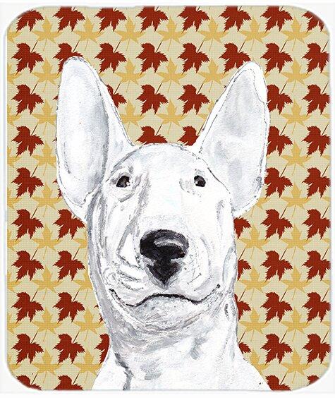 East Urban Home Bull Terrier Glass Cutting Board Wayfair