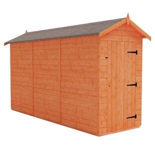 Tiger 4 Ft. W X 12 Ft. D Shiplap Apex Wooden Shed By Tiger Sheds