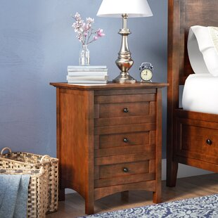 Calila 3 Drawer Nightstand