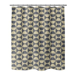 Livingon Single Shower Curtain by Brayden Studio New
