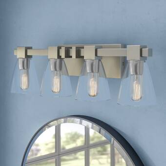 Breakwater Bay Leyden 4 Light Dimmable Vanity Light Reviews Wayfair