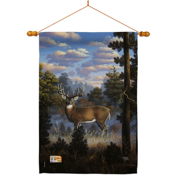 Breeze Decor Morning Light Impressions Decorative 2 Sided Polyester 40 X 28 In Flag Set Wayfair