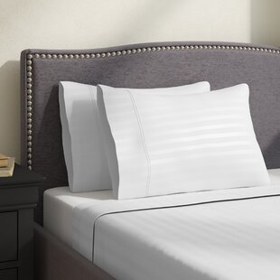 Hollaway 400 Thread Count Premium Long-Staple Combed Cotton Stripe Sheet Set ByCharlton Home