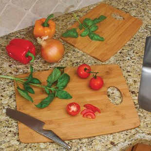 2 Piece Bamboo Cutting Board Set By Lipper International