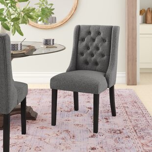 Arnoldsville Baronet Upholstered Dining Chair by Charlton Home Herry Up