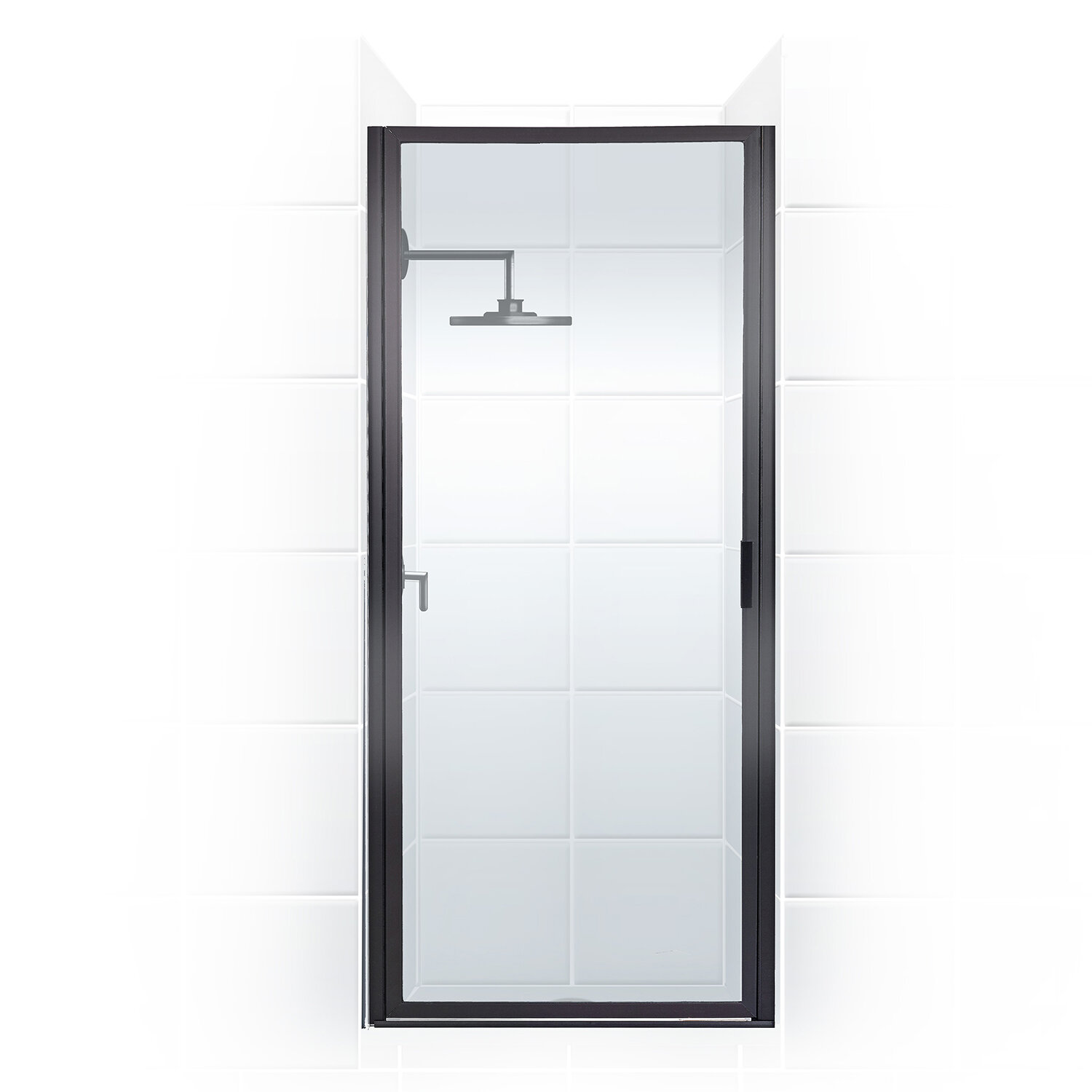 Coastal Industries Paragon Series 34 X 75 Hinged Framed Shower Door Wayfair