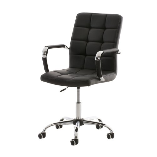 Chefsessel Felitto | Büro > Bürostühle und Sessel  > Chefsessel | Schwarz | Kunstleder - Metall | dCor design