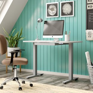 Sabine Electric Adjustable Standing Desk by Comm Office Amazing
