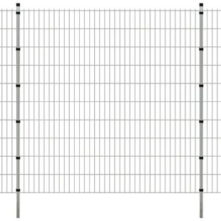 Bushman 2D 26' X 9' (8m X 2.6m) Picket Fence Panel By Sol 72 Outdoor