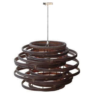 Bay Isle Home Kurt Rattan 1-Light Novelty..